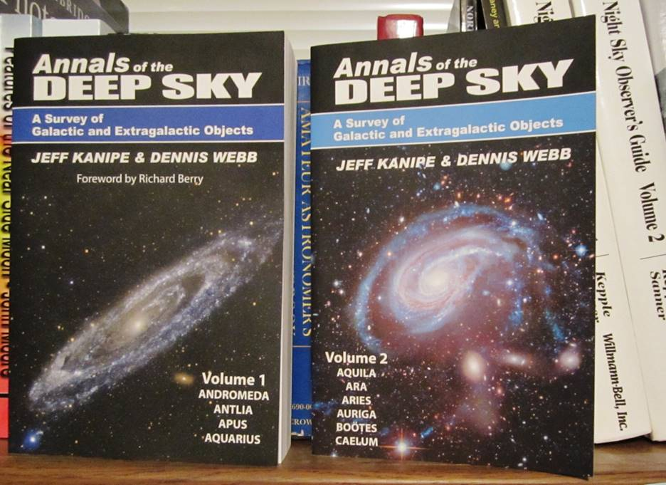 Annals Of The Deep Sky Volumes One And Two