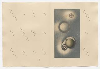 Max Ernst. In-text plate (page 5) from 65 Maximiliana or the Illegal Practice of Astronomy (65 Maximiliana ou l'exercice illégal de l'astronomie). 1964